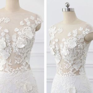 Dresses & Skirts - 🌸Plus/Regular 🌸Sheer Queen Wedding Gown,2-22W